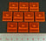 LITKO No Starboard Tokens, Fluorescent Orange (10) - LITKO Game Accessories