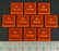 LITKO No Turrets Tokens, Fluorescent Orange (10) - LITKO Game Accessories
