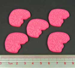 Big Brain Tokens, Pink (5) - LITKO Game Accessories