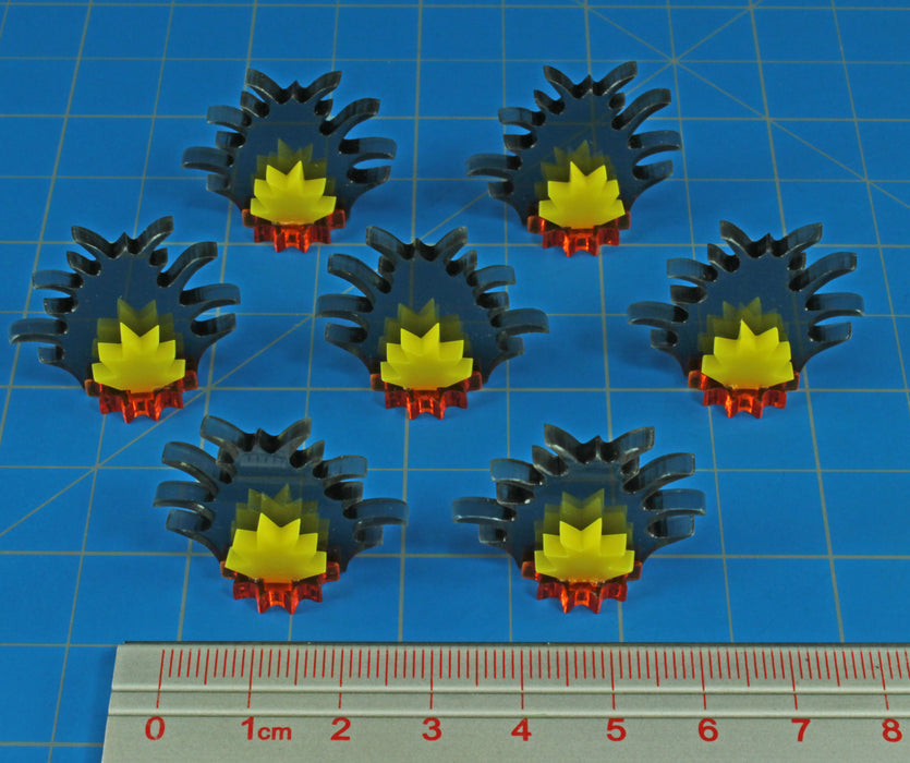 Barrage Markers, Small (7) - LITKO Game Accessories