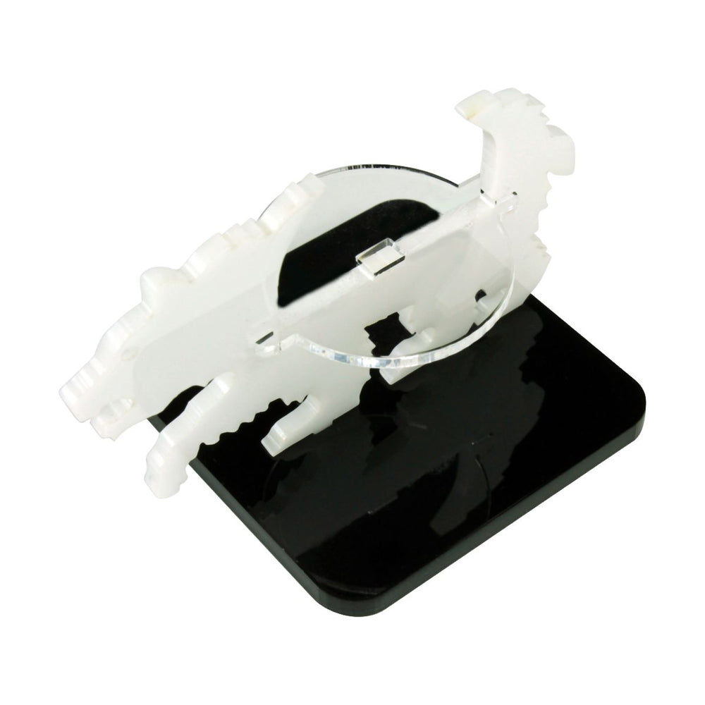 Bear Character Mount with 2-inch Square Base, White - LITKO Game Accessories