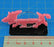 Boar Character Mount with 25x50mm Base, Pink - LITKO Game Accessories