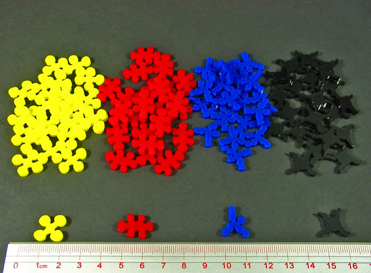 Virus Token Upgrade Set, Multi-Color (96) - LITKO Game Accessories