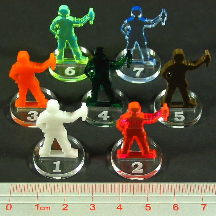Player Pawn Upgrade Set (7) - LITKO Game Accessories