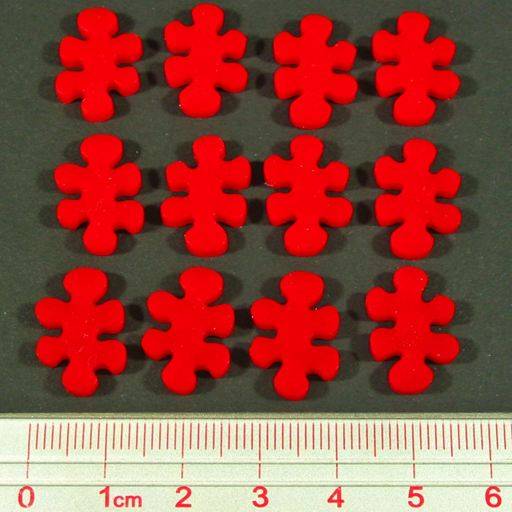 LITKO Pox Virus Tokens, Red (12) - LITKO Game Accessories