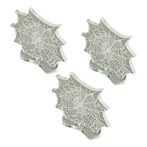 Cobweb Markers, Clear (3) - LITKO Game Accessories