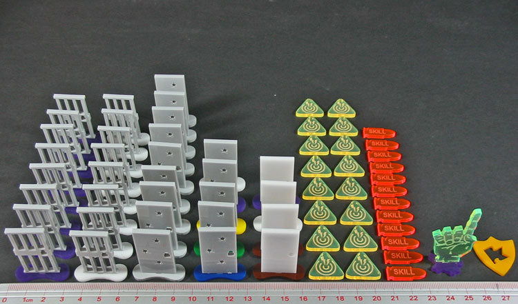 LITKO Upgrade Set for Zombicide: Prison Outbreak (66) - LITKO Game Accessories