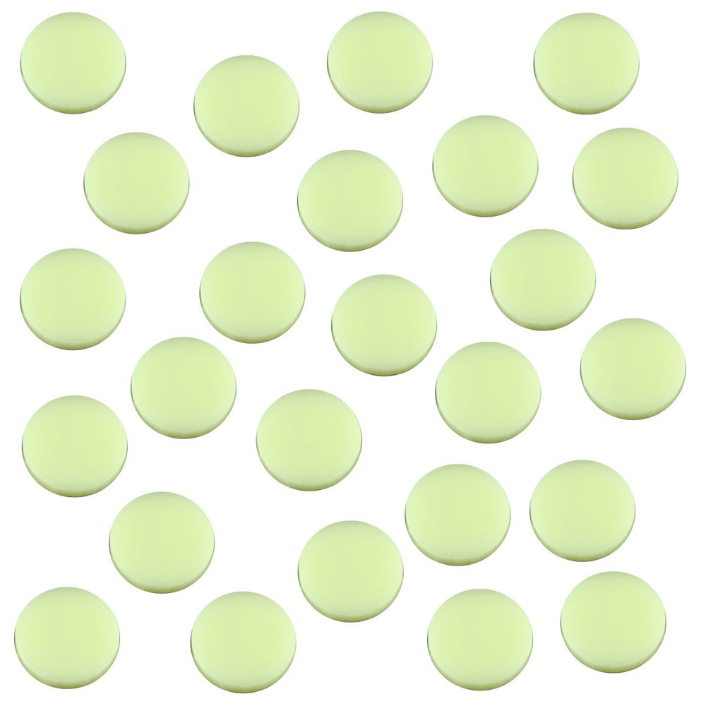 18mm Circular Game Tokens, Ivory (25) - LITKO Game Accessories