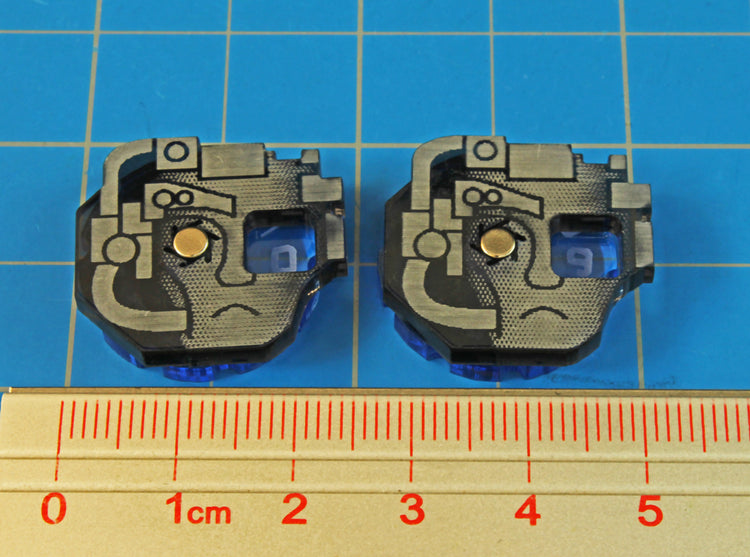 Space Wing, Drone Dials, 0-9 (2) - LITKO Game Accessories