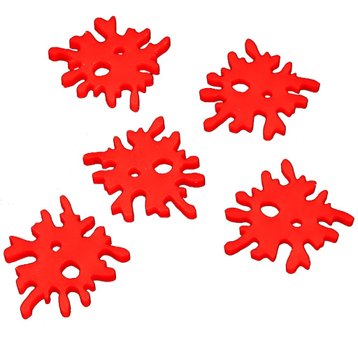Blood Splat Tokens, Red (5) - LITKO Game Accessories