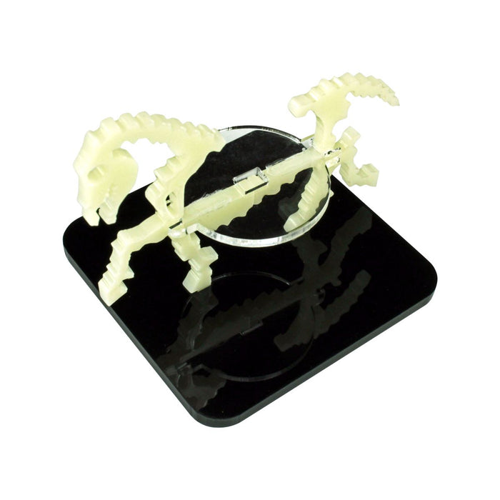 Skeletal Steed Character Mount with 2-inch Square Base, Ivory - LITKO Game Accessories