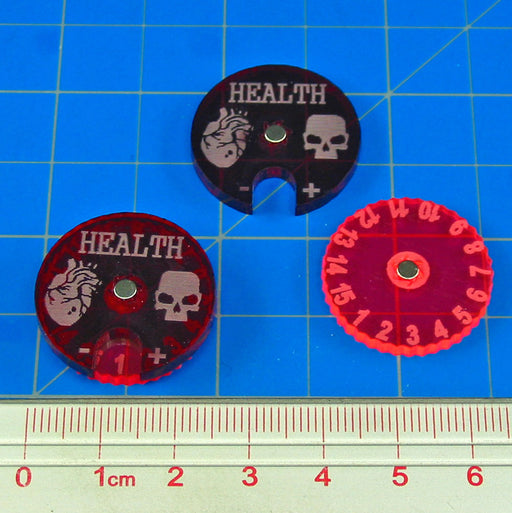 Cthulhu Health Dials (2) - LITKO Game Accessories