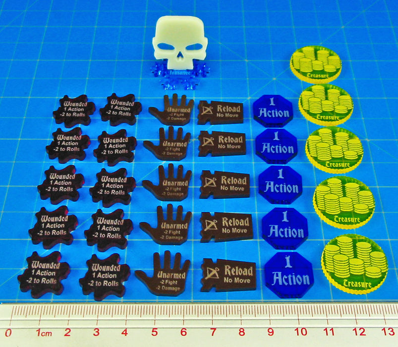 LITKO Upgrade Set for Frostgrave (31) - LITKO Game Accessories