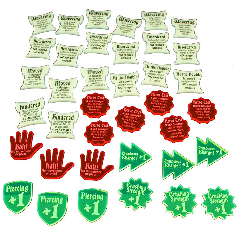 LITKO Token Set for King's of War (38) - LITKO Game Accessories