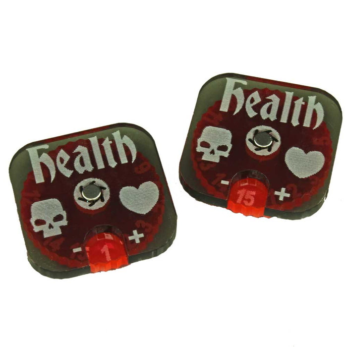 Dungeon Health Dials (2) - LITKO Game Accessories