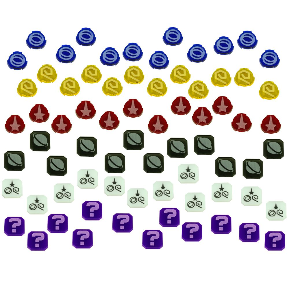 ST: Frontiers Data Token Set (72) - LITKO Game Accessories