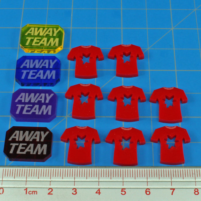 ST: Frontiers Away Team Token Set (12) - LITKO Game Accessories