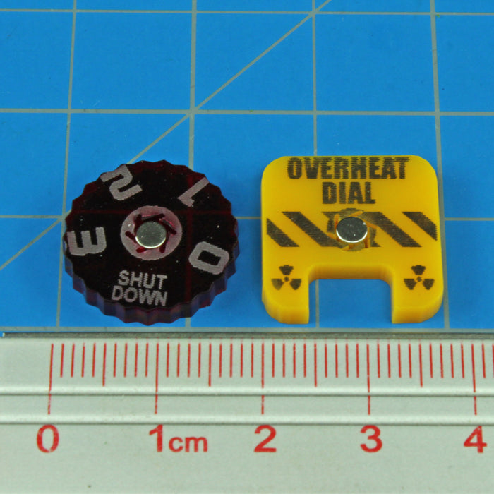 BT: ALPHA, Overheat Dial Kit (2) - LITKO Game Accessories