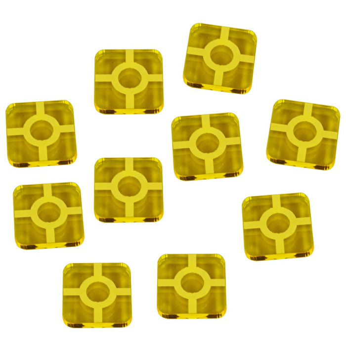 SW: Destiny Resource Tokens, Transparent Yellow (10) - LITKO Game Accessories
