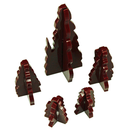 Stalagmite Terrain Marker Set, Brown (5) - LITKO Game Accessories