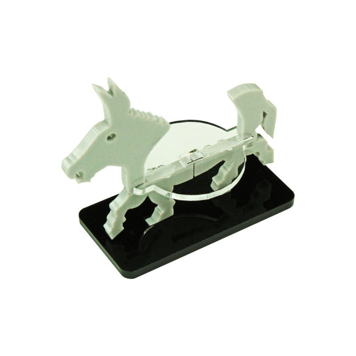 Donkey Character Mount with 25x50mm Base, Grey - LITKO Game Accessories