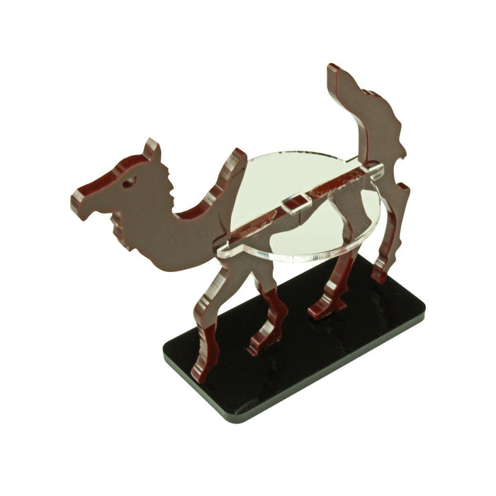 Camel Character Mount with 25x50mm Base, Brown - LITKO Game Accessories