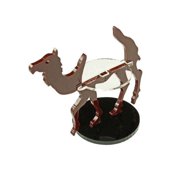 Camel Character Mount with 40mm Circle Base, Brown - LITKO Game Accessories