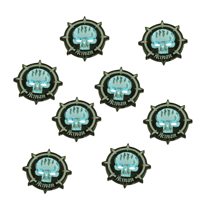 WHU: Spire Activation Token Set, Multi-Color (8) - LITKO Game Accessories