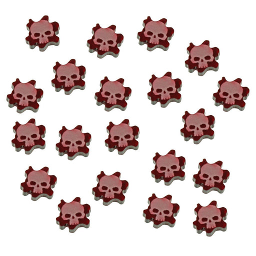 WHU: Spire Mini Wound Tokens, Translucent Red (15) - LITKO Game Accessories