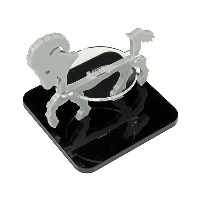 Ram Character Mount with 2-Inch Square Base, Grey - LITKO Game Accessories
