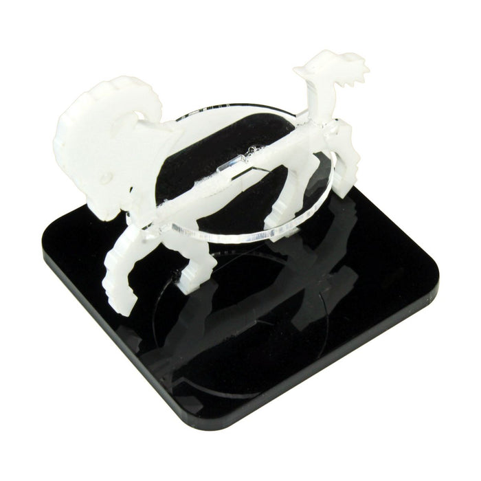 Ram Character Mount with 2-Inch Square Base, White - LITKO Game Accessories