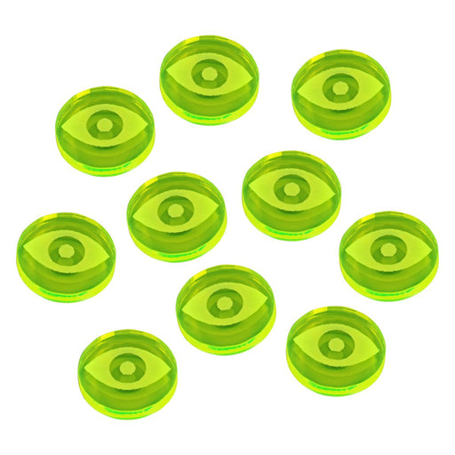 LITKO Space Fighter 2nd Edition Focus Tokens, Fluorescent Green (10) - LITKO Game Accessories