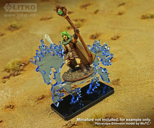 LITKO Phantom Steed Character Mount with 25x50mm Base - LITKO Game Accessories