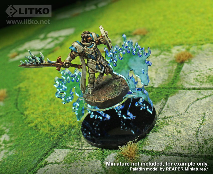 LITKO Phantom Steed Character Mount with 50mm Circular Base - LITKO Game Accessories