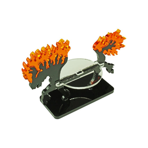 LITKO Nightmare Steed Character Mount with 25x50mm Base - LITKO Game Accessories