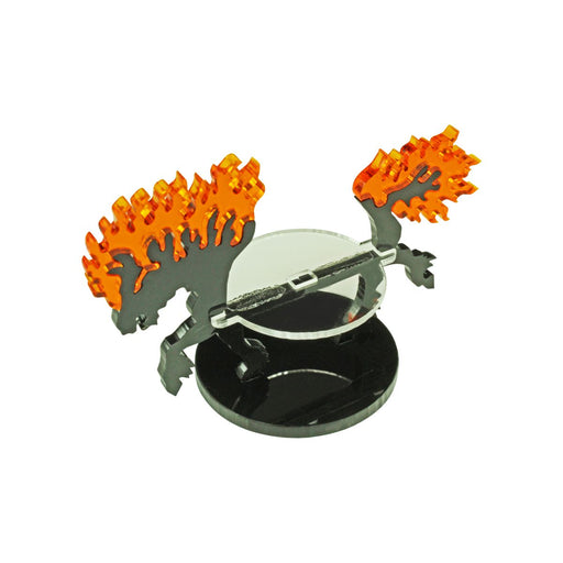 LITKO Nightmare Steed Character Mount with 40mm Circular Base - LITKO Game Accessories