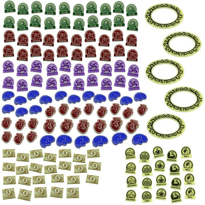 LITKO Game Upgrade Set Compatible with Arkham 3rd Edition, Multi-Colored (150) - LITKO Game Accessories