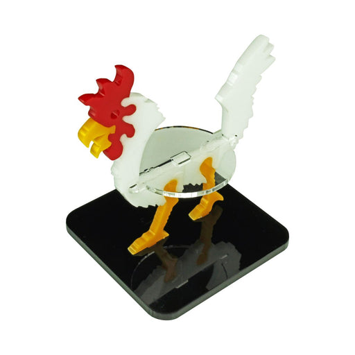 LITKO Giant Chicken Character Mount with 2-Inch Square Base, White - LITKO Game Accessories