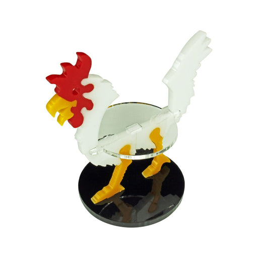 LITKO Giant Chicken Character Mount with 40mm Circular Base, White - LITKO Game Accessories