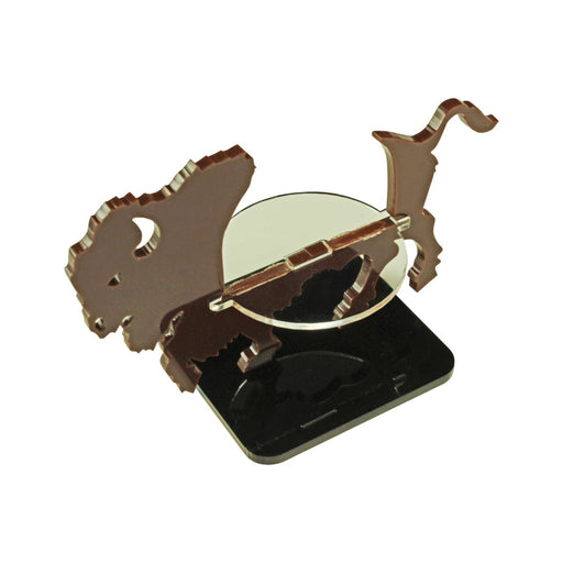LITKO Bison Character Mount with 2-inch Square Base, Brown - LITKO Game Accessories