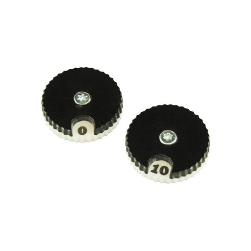 LITKO Circular Combat Dials, Numbered 0-10, Black (2) - LITKO Game Accessories