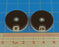 LITKO Circular Combat Dials, Numbered 0-10, Brown (2) - LITKO Game Accessories