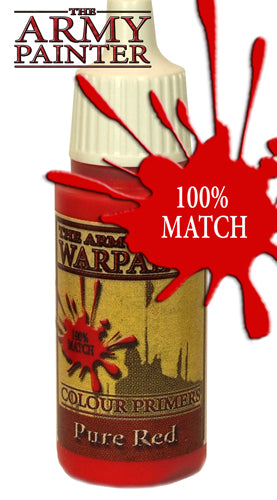 Pure Red Paint (0.6 Fl Oz) - LITKO Game Accessories
