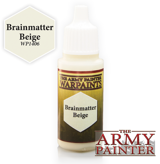 Brainmatter Beige Paint (0.6 Fl Oz) - LITKO Game Accessories