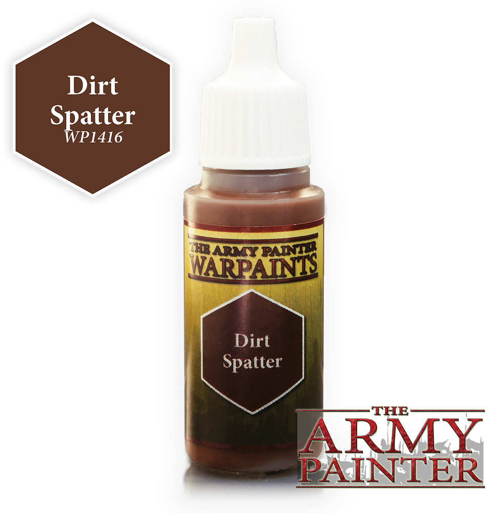 Dirt Spatter Paint (0.6 Fl Oz) - LITKO Game Accessories
