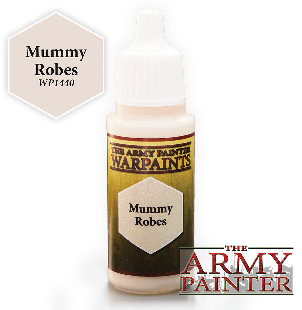 Mummy Robes Paint (0.6 Fl Oz) - LITKO Game Accessories