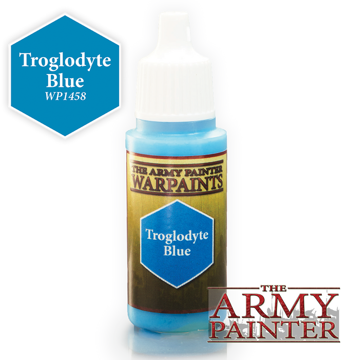 Troglodyte Blue Paint (0.6 Fl Oz) - LITKO Game Accessories