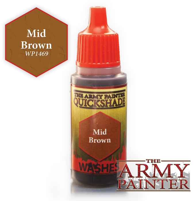 Mid Brown Paint (0.6 Fl Oz) - LITKO Game Accessories