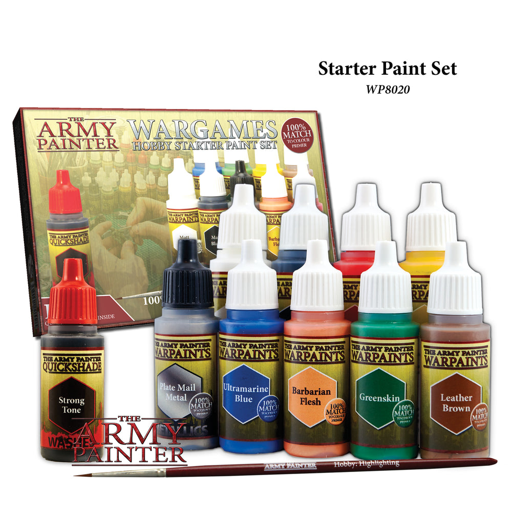 Warpaints Starter Paint Set - LITKO Game Accessories