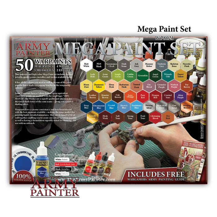 Warpaints Mega Paint Set 2017 - LITKO Game Accessories